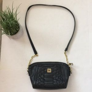 KATE LANDRY black crossbody bag